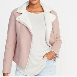 Old Navy Pink Sherpa Jacket